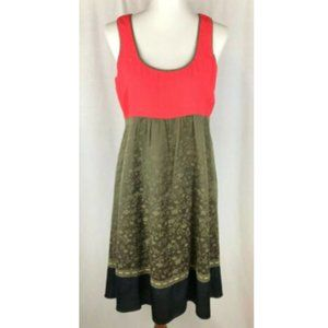 Anthropologie Moulinette Soeurs Silk Dress Size 6